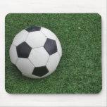 Mousepad del balón de fútbol tapetes de ratón