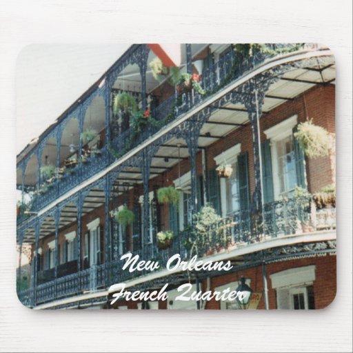 mousepad del barrio francés de New Orleans