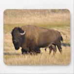 Mousepad del bisonte tapetes de raton