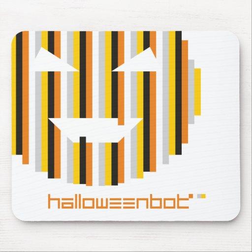 Mousepad del Bot y del logotipo de Halloween