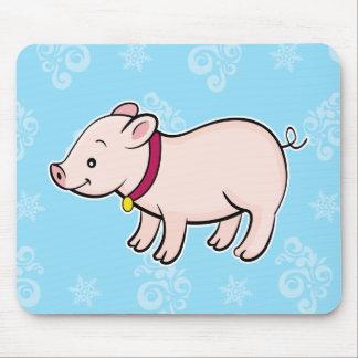 Mousepad del cerdo tapetes de ratones