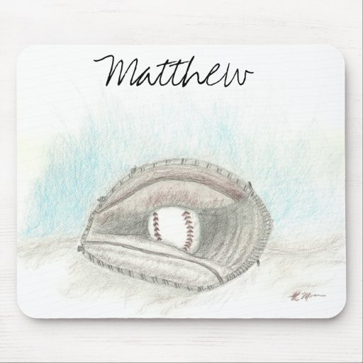 Mousepad del colector del béisbol alfombrilla de ratón