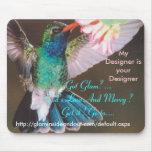 Mousepad del colibrí tapetes de ratón