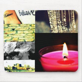 mousepad del collage de la foto