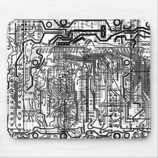 mousepad del conjunto de circuitos