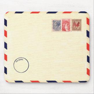 mousepad del correo aéreo