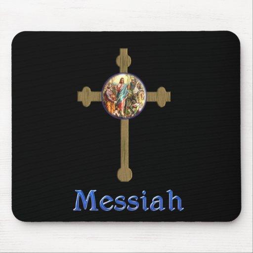 Mousepad del cristiano de las Mesías Alfombrillas De Raton