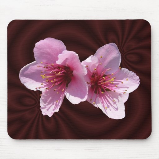 Mousepad del ~ del flor de la nectarina alfombrilla de raton