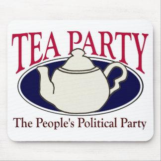 Mousepad del día del impuesto de la fiesta del té alfombrillas de ratones