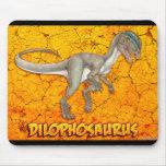 Mousepad del Dilophosaurus
