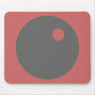mousepad del diseño del círculo - color de malva y