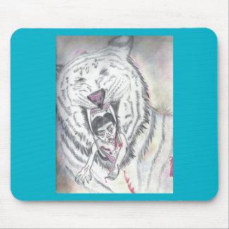 Mousepad del diseño del tigre alfombrilla de raton