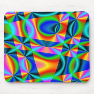 ~ Mousepad del edredón del arco iris