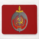 Mousepad del emblema de NKVD Alfombrillas De Ratones