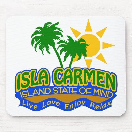 Mousepad del estado de ánimo de Isla Carmen