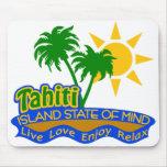 Mousepad del estado de ánimo de Tahití Alfombrilla De Ratones