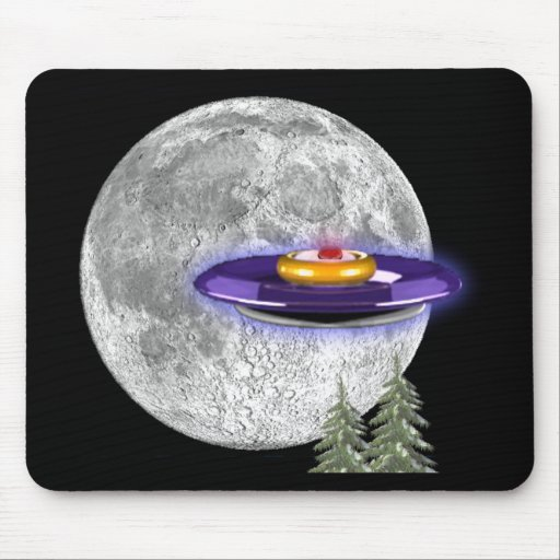 Mousepad del extranjero del UFO Tapete De Ratón