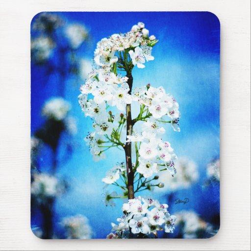 Mousepad del flor de la pera