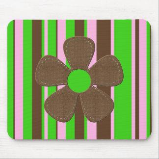 Mousepad del flower power tapetes de raton