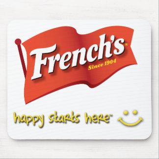 Mousepad del francés