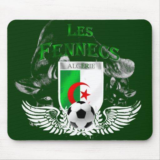 Mousepad del fútbol de bandera de Les Fennecs Arge Alfombrillas De Raton