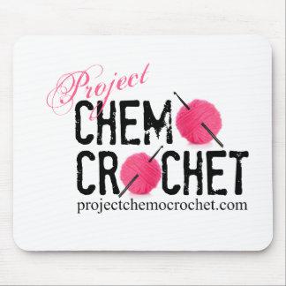 Mousepad del ganchillo de Chemo del proyecto