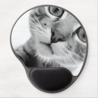 Mousepad del gato alfombrillas de raton con gel