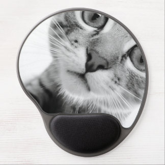 Mousepad del gato alfombrillas con gel