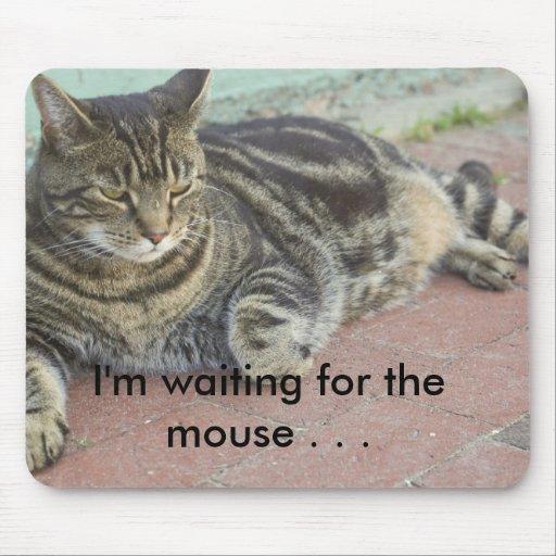 Mousepad del gato alfombrillas de raton