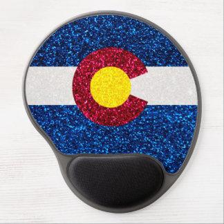 Mousepad del gel de la bandera de Colorado del Alfombrillas De Raton Con Gel