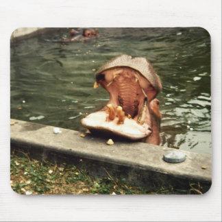 mousepad del hipopótamo
