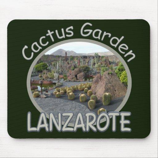 Mousepad del jardín del cactus alfombrilla de ratón