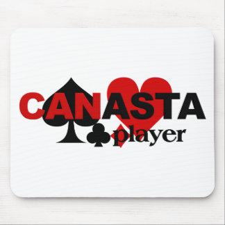 Mousepad del jugador de la canasta alfombrilla de raton