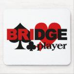 Mousepad del jugador de puente tapete de ratones
