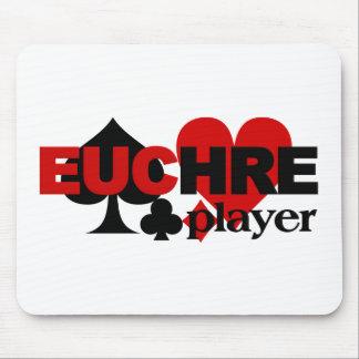 Mousepad del jugador del Euchre Tapetes De Ratones