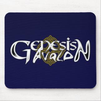 Mousepad del logotipo de Avalon de la génesis