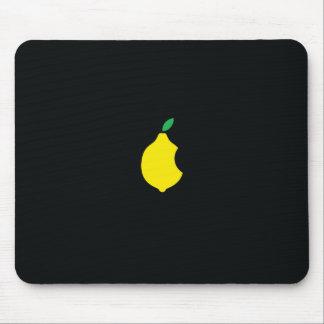mousepad del logotipo del limón