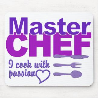 Mousepad del maestro cocinero