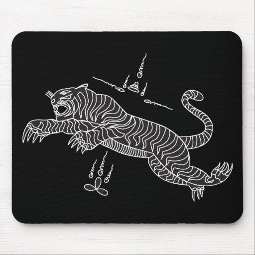 Mousepad del mantra del tigre alfombrilla de raton
