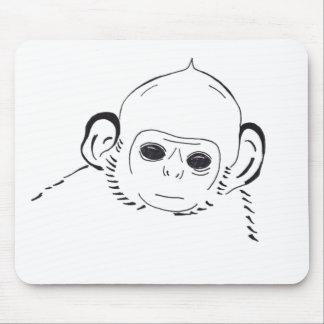 Mousepad del mono del bebé alfombrilla de ratón