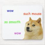 mousepad del mousemat del dux del shibe alfombrilla de ratón