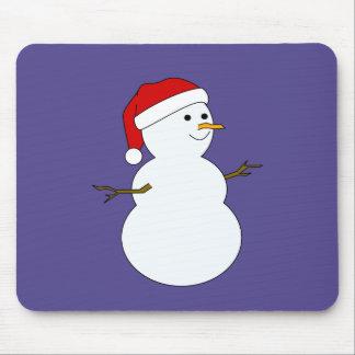 mousepad del muñeco de nieve alfombrilla de raton