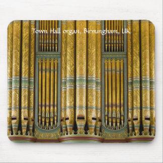 Mousepad del órgano - ayuntamiento Birmingham
