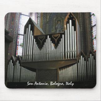 Mousepad del órgano de Bolonia