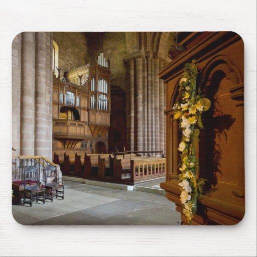Mousepad del órgano de Chester Alfombrilla De Ratones