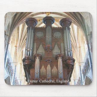 Mousepad del órgano de Exeter Tapete De Ratón