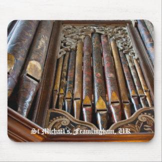 Mousepad del órgano de Framlingham Tapete De Ratón