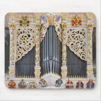 Mousepad del órgano de Halle