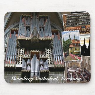 Mousepad del órgano de la catedral de Bamberg