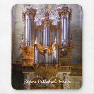 Mousepad del órgano de la catedral de Béziers -
